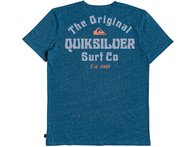 Quiksilver Energy Project SS Tee Men, majolica blue heather